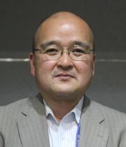 葛飾ゴム工業会会長 武者英之の写真