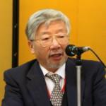 今年の抱負を語る藤井会長
